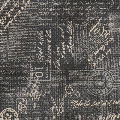 Adorn It - Chamberry - Burlap in Gray