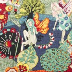 Alexander Henry Fabrics - Everyday Eden - Fairyland in Red