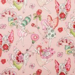 Alexander Henry Fabrics - Everyday Eden - Flower Fairies in Pink
