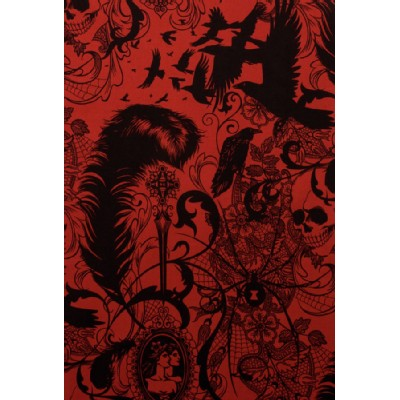 Alexander Henry Fabrics - Halloween - After Dark in Red