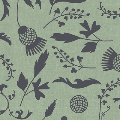 Andover - Ex Libris - Botany Chambray in Taupe
