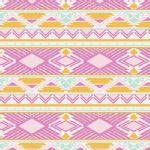 Art Gallery Fabrics - AGF Collection - Anna Elise - Tribal Study in Jewel