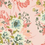 Art Gallery Fabrics - AGF Collection - Forest Floor - Wild Posy in Flora