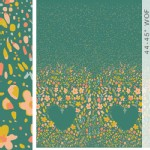 Art Gallery Fabrics - AGF Collection - Garden Dreamer - Love Garden in Vibrant