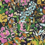 Art Gallery Fabrics - AGF Collection - Indigo and Aster - La Floraison  in Dim