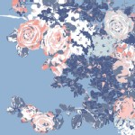 Art Gallery Fabrics - AGF Collection - In Blue - Bloesem in Sweet