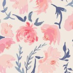 Art Gallery Fabrics - AGF Collection - Wonderful Things - Garden Walk in Thistle