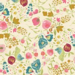 Art Gallery Fabrics - Emmy Grace - Budquette in Dayspring