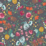 Art Gallery Fabrics - Emmy Grace - Budquette in Nightfall