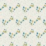 Art Gallery Fabrics - Fantasia - Bous Trail in Bluet