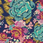 Art Gallery Fabrics - Knits - Acqua Di Rose in Boho