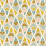 Art Gallery Fabrics - Knits - Garden Dreamer - Diamond Fragments in Gold