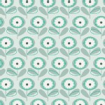Art Gallery Fabrics - Littlest - Playful Petals in Menthe