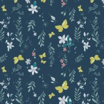 Art Gallery Fabrics - Nightfall - Magical Gust in Crisp