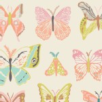 Art Gallery Fabrics - Winged - Wingspan in Melon