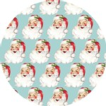 Blend Fabrics - Holiday - St Nick in Blue