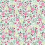 Blend Fabrics - Sugar Rush - Christmas Candy in Blue