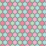 Blend Fabrics - Sugar Rush - Frosted Snowflakes in Grey