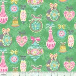 Blend Fabrics - Sugar Rush - Vintage Ornament in Green