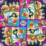 Camelot Fabrics - DC Comic - Wonder Woman in Multi