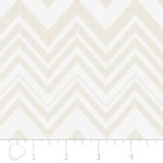 Camelot Fabrics - Heavy Metal - Chevron in Silver Metallic