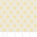 Camelot Fabrics - Heavy Metal - Stars in Gold Metallic