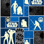 Camelot Fabrics - Star Wars - The Rebellion in Glows In the Dark