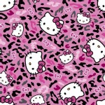 Character Prints - Hello Kitty - Sanrio Hello Kitty Cheetah Toss in Pink