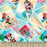Character Prints - Mickey - Minnie Summer Time in Summer