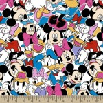 Character Prints - Mickey - KNIT - Mickey and Friends in Multi