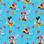 Character Prints - Mickey - Mickey and Friends Playtime in Blue