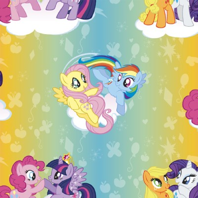 Character Prints - Other Characters - My Little Pony in Ombre