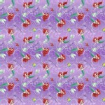 Character Prints - Princess - Ariel Splash in Purple