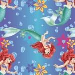 Character Prints - Princess - Ariel Ombre Toss Brushed Back Satin in Ombre