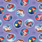 Character Prints - Princess - Little Mermaid Fairy Tale Ending in Lavender
