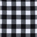 Cotton And Steel - Basics - Gingham 1 inch in Black