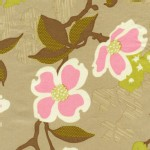Free Spirit - Modern Meadow - Dogwood Bloom in Pink