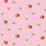 Lakehouse Drygoods - Pam Kitty Picnic - Tiny Florals in Pink