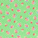 Lecien - Flower Sugar 2014 Fall - Small Florals in Green