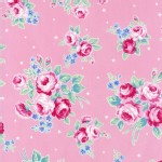 Lecien - Flower Sugar Rose Kiss - Main Floral in Pink