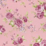 Lecien - Rococo Sweet 2015 - Main Floral Bouquet in Dusky Pink