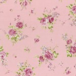 Lecien - Rococo Sweet 2015 - Medium Floral Bouquet in Dusky Pink