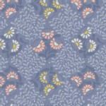 Lewis And Irene - A Little Bird Told Me - Cottage Garden in Welsh Blue