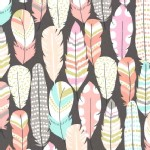 Michael Miller Fabrics - Arrow Flight - Plucked in Coin
