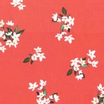 Michael Miller Fabrics - Bed of Roses - Lilly of the Valley in Coral