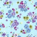 Michael Miller Fabrics - Florals - Little Posies in Sky