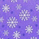 Michael Miller Fabrics - Glitter and Sparkles - Snowflakes Glitter in Amethyst