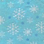 Michael Miller Fabrics - Glitter and Sparkles - Snowflakes Glitter in Blizzard