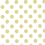 Michael Miller Fabrics - Glitz - Quarter Dot Pearlized in Glitz
