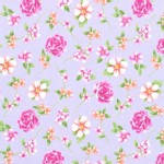 Michael Miller Fabrics - Kids - Fairy Frolic Floral in Lilac